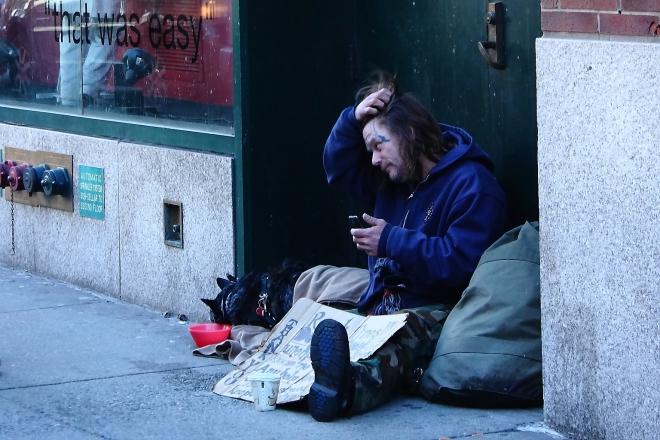 'Establishing Communications' 86th Street and Lexington Avenue